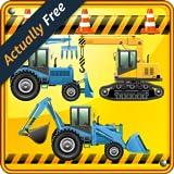 Bagger Spiele für Kinder und Kleinkinder : entdecken Sie die Welt des Bulldozers ! Spiel mit Baggern - KOSTENLOS