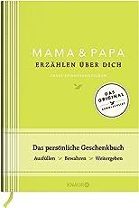 Mama und Papa erzählen über dich I Elma van Vliet: Unser Erinnerungsalbum