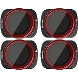 Freewell Bright Day - Série 4K - ND8/PL, ND16/PL, ND32/PL, ND64/PL Filtres d'objectif de Caméra Compatibles avec DJI…