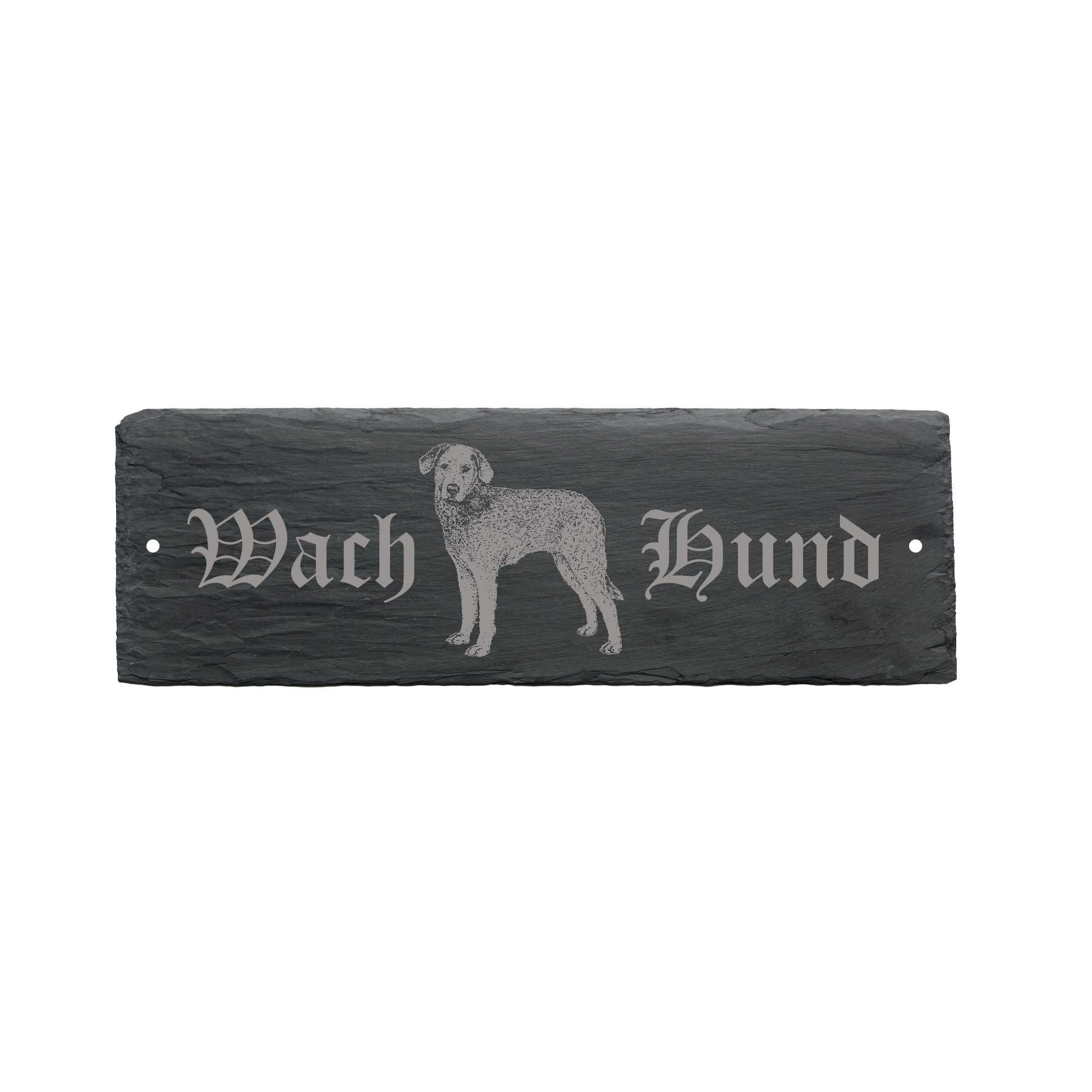 "'Weather' ""Guard Dog Chesapeake Bay Retriever Dog Door Sign 22x 8cm–Dog"