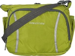 Fantosy men Green polyester slingbag (MB-004)