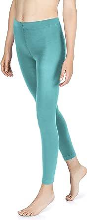 Sockenkauf24 - Leggings termici da donna con interno in pile, 10 colori, extra caldi
