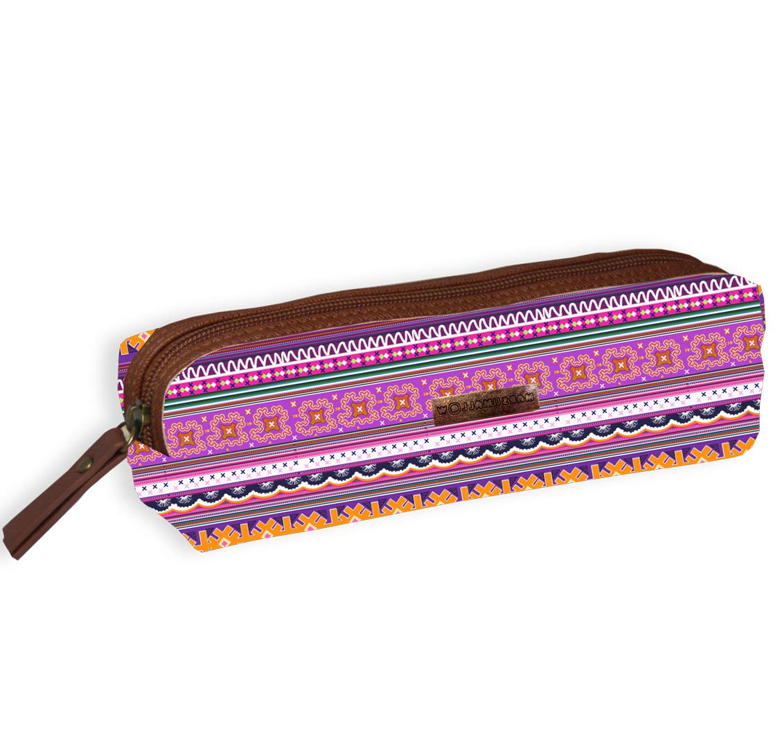 Jacob & Co. Pencilcase Ethnic – Estuche (20 cm), Color Rosa