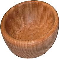 Bol de service en bois – Bol à fruits décoratif – Bol à salade alimentaire – Bol en bois naturel – Bol en bois rustique…