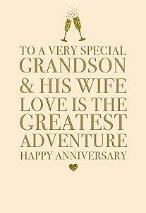 Auguri X L Anniversario Di Matrimonio.Sconosciuto Splendido Biglietto D Auguri In Rilievo Con Scritta