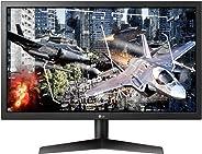 LG 24 inç 24GL600F 1 Ms 144Hz HDMIx2 DP FreeSync LED Siyah Oyun Monitörü
