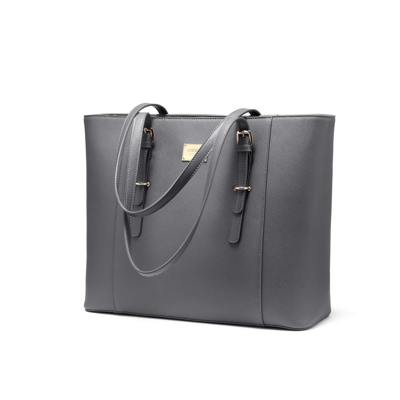 LOVEVOOK Bolsos Mujer Laptop Bag Large Women Tote Bag Gym bag Travel Shoulder bag Large Office Handbags Briefcase Fit 15.6 Inch Laptop for Interview/Work/Business/College