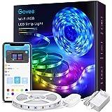 Govee Tiras LED Alexa WiFi 5M, Tira LED RGB Inteligente con Control APP, Sync con Música y 7 Modo Escenas, Luces LED Funciona
