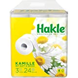 'Hakle Natural Protection Moist Toilet Tissues Toilet Paper with Chamomile and Aloe Vera 3Layers Leopard Rainbow Fairy Skirt