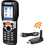 Trohestar 1D Tragbarer Barcode-Scanner für Barcodescanner mit TFT-Farbdisplay