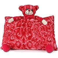 DI Deals India Teddy Pillow- 35 cm, Red