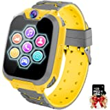 Orologio Intelligente Bambini con 7 Giochi - Musica MP3 Smartwatch Bambini, Orologio Intelligente Bambini con Telefono Allarm