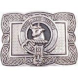 Tweedie Clan Crest Kilt Belt Buckle