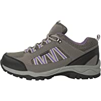Mountain Warehouse Path Waterproof Womens Walking Shoes - Breathable Ladies Shoe, Mesh Lining, High Traction Sole Hiking…