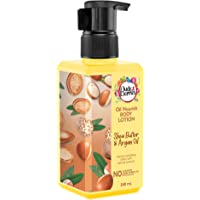 Buds & Berries Fruit Nourish Shea Butter and Argan oil Body Lotion, Rich Moisturisation, Normal to Dry skin   NO Paraben…