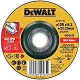DEWALT DT43917-QZ Disque à meuler le métal 125x22.2mm, épaisseur 6mm, moyeu déporté