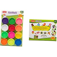 Funskool-Fundough Fun Pack + Fundough Gift Set