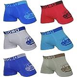 Uomo Pack de 12 Calzoncillos para Niños/Adolescestes SIN Costuras, Elásticos, Suaves y Cómodos. Colorido/Modelos Modernos, Fa