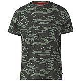 D555 Duke Big Kingsize Camouflage Combat Army Style Short Sleeve T-Shirt Camo Tee