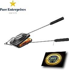 Pace Enterprises Sandwich Toaster Maker pan (Black)