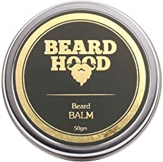 Beardhood 100% Natural Beard Balm, 50g