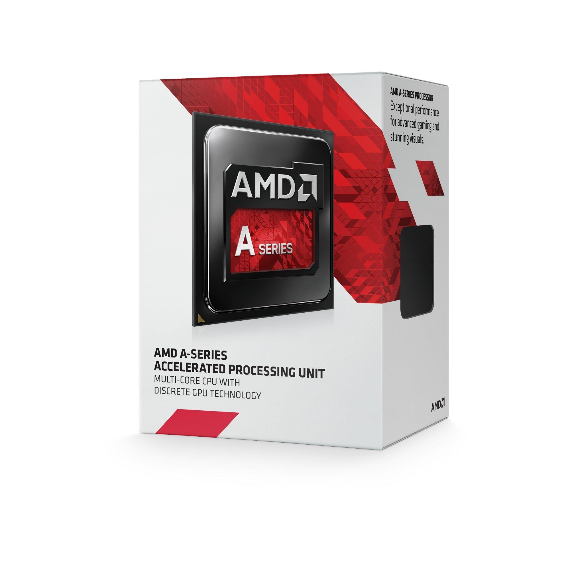 AMD FM2+ A4-7300K Processore 3,8GHz Box, Nero