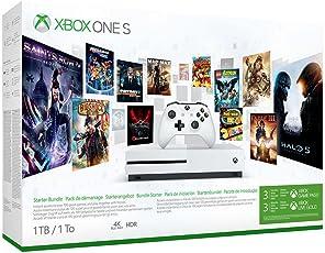 Xbox One S 500GB Konsole - Starter Bundle inkl. 3 Monate Xbox Game Pass
