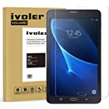 ivoler Protector de Pantalla para Samsung Galaxy Tab A 7.0 Pulgadas 2016 (T280/T285), Cristal Vidrio Templado Premium [9H Dur