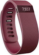 Fitbit Charge Wristband, Burgundy, Small
