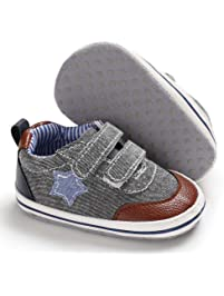 b5cb6d7b3c Babycute Infant Canvas Shoes Trainers Soft Sole Casual Sneakers Baby Boys  Girls First Walkers Shoes Lace