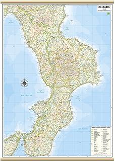 Cartina Giografica Calabria.Altri Posti Circolare Missile Mappa Geografica Calabria Amazon Monzacorre It