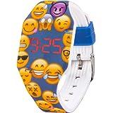 Orologio digitale a LED KIDDUS per bambini, ragazze, adulti. Cinturino comodo in morbido silicone. Batteria giapponese lunga