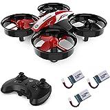 Holy Stone HS210 Mini Drohne RC Drone für Kinder und Anfänger, Mini Quadrocopter RC Helikopter Indoor mit 3 Akkus, Automatischer Höhehaltung, 3D Wendung, Start/Landung mit Einem Knopfdruck usw