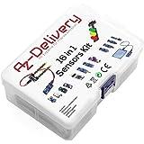 AZDelivery 16 in 1 Kit accessoire set met sensoren en modules compatibel met Raspberry Pi en Co. Inclusief E-Book!