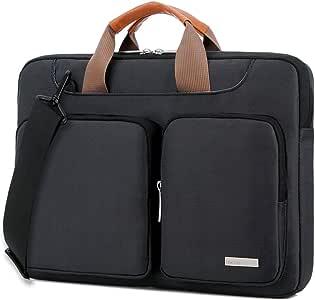 Lacdo 13,5 Zoll Laptoptasche für Microsoft Surface Laptop/Book 3 2, 13,5/13 Zoll Neu MacBook Air Und MacBook Pro 2012-2020 / ASUS Dell HP Lenovo Notebook Laptop Tasche Hülle Schutzhülle, Schwarz