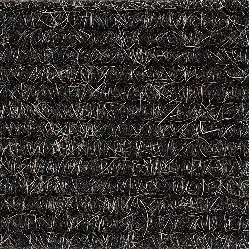 Teppichboden Teppich-Fliese | Tretford Interland ECO | 50x50 cm | schwarz 534