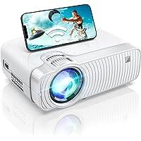 Mini Projecteur Portable WiFi Vidéoprojecteur 720P Natif 6000LM 1080P Full HD Soutien, Projecteur LED avec HDMI, VGA…
