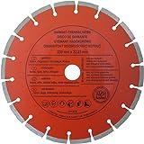 CON:P B23125 diamantslijpschijf beton, gesegmenteerd, 230 mm
