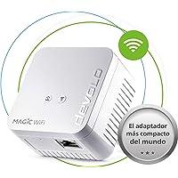 devolo Magic 1 WiFi Mini: Ergänzungsadapter für zuverlässiges WLAN einfach via Stromleitung durch Wände und Decken, Mesh, G.hn-Technologie, Gäste-WLAN, Schweizer Stecker