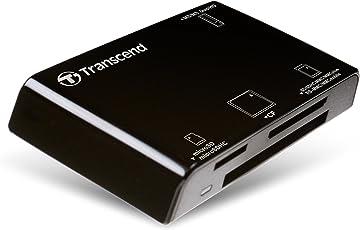 Transcend All-in-1 Multi Card Reader USB2.0 RDP8(TS-RDP8K) Black