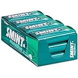 SMINT Fresh Effect Eucalyptus – 12 blikjes met 50 krachtige pepermuntjes, suikervrije pastilles voor een fris neus- en keelge