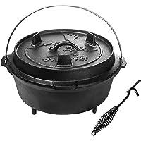 Petromax ft18 Cocotte en Fonte/ Fond Plat Dutch Oven