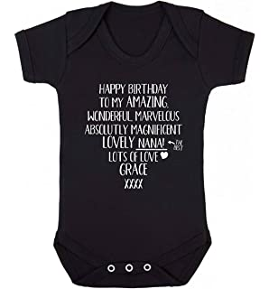 Shopagift Baby When I Grow up I Want to be a Dancer Sleepsuit Romper