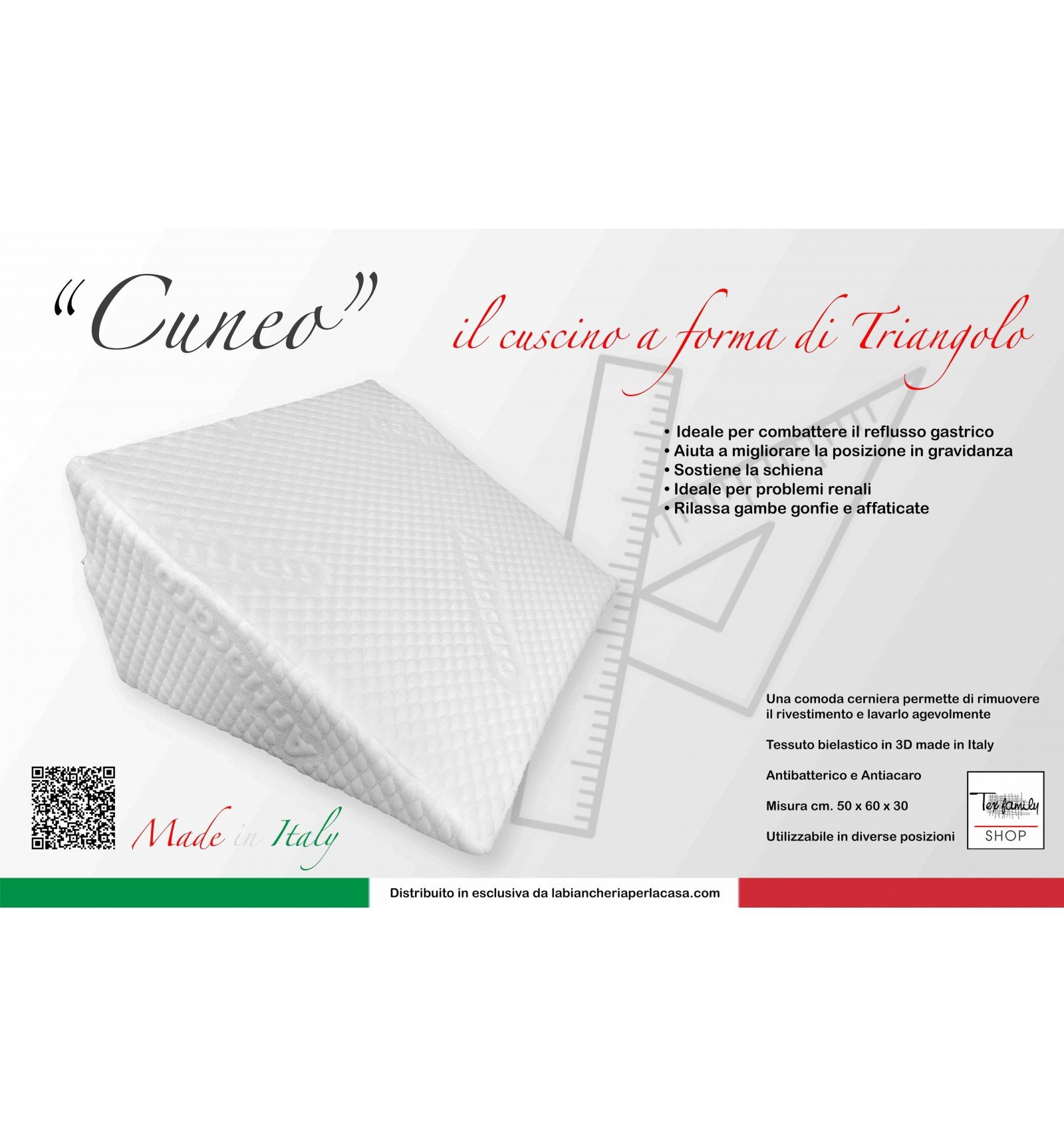 tex family Cuscino AD Angolo Triangolo A Cuneo Gambe Gravidanza ...