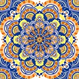 Serviette 20 Mandala Multi/Orientalische Muster/Kreise 33 x 33cm