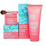 Sand & Sky Perfecte Huid Bundel Sand & Sky Australische Roze Klei Gezichtsmaskerset
