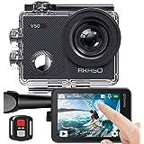 Caméra Sport 4K Etanche WiFi – AKASO Action Caméra Sportive Ultra Full HD Stabilisateur avec Télécommande Écran Tactile 30fps