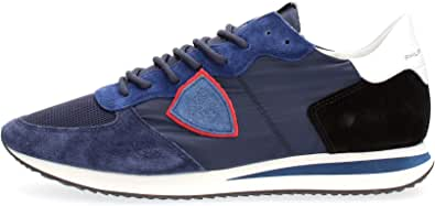 PHILIPPE MODEL PARIS TZLU W057 Tropez Sneakers Uomo Bluette