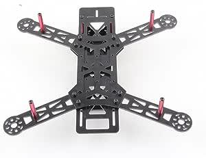 Qav250 250 Mm Fpv Quadrocopter Multicopter Glas Kit Rahmen Material In Faser Spielzeug