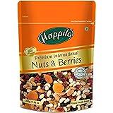 HappiloPremium International Dried Nuts and Berries, 200g